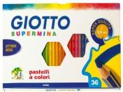 Giotto 235900 Confezione 36 Pastelli Supermina