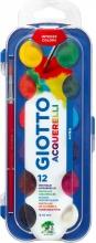 Giotto 351200 Acquerelli Giotto 12 Colori Assortiti