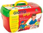 Giotto 465800 Libro da colorare con 14 pastelli Supercolorbox