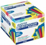 Giotto 539601 Confezione 100 Gessetti Robercolor Col. Gia.