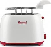 Girmi TP1001 Tostapane 2 Fette 750W 6 Livelli Cottura Funzione scongelamento