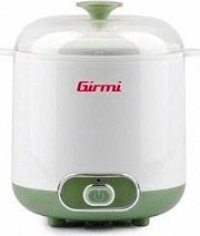 Girmi YG0200 Yogurtiera elettrica capacità 1.5 litri 20 Watt Temperatura 42° YG02