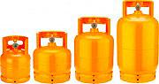 Gisi 51031003TP Bombola da Campeggio per Gas Propano Vuota con Rubinetto 3 Kg