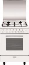 Glem Gas A664MX6 Cucina a Gas 4 Fuochi Forno Elettrico Ventilato Grill 60x60 cm