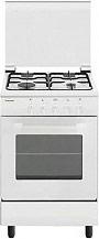 Glem Gas AE55MXF3 Cucina a Gas 4 Fuochi Forno elettrico Grill 50x50 cm Coperchio
