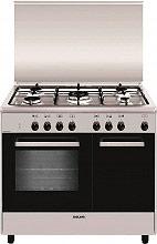 Glem Gas AR965MI6 Cucina a Gas 5 Fuochi Forno Elettrico Ventilato Grill 90x60 cm