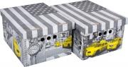 Global Pak A4019 Scatola Cartone Cm 33x25x18H Set 2Pz Col.019 Confezioni 12