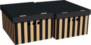 Global Pak A4036 Scatola Cartone Cm 33x25x18H Set 2Pz Col.036 Confezioni 12