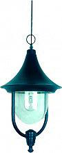 Globex Lampada Esterno Giardino Applique Soffitto cm 50 cm Ø 26x62,5h Nero 3205