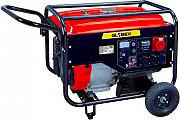 Globex QS6500A Generatore di corrente Benzina Motore 4T 7.6kW 25L  GX6500GE