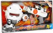Globo 37363 Pistola spaziale luci e suoni casco di protezione e bracciale