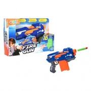 Globo 38234 Arma giocattolo Mitra con 16 Proiettili Soffici
