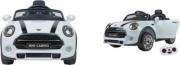 Globo 39087 Auto Elettrica Mini Cooper con telecomando Bianco
