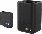 GoPro AADBD-001-EU Caricabatterie per Batterie GoPro HERO 5 2 Slot + 1 Batteria
