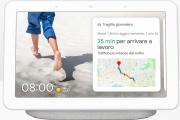 "Google GA00516 Nest Hub - Cornice Digitale 7"" Comando videosorveglianza Bianco"