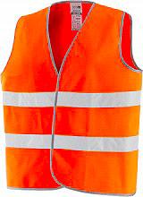 Greenbay 422035 Gilet Alta Visibilità Catarifrangente omologato colore Arancione