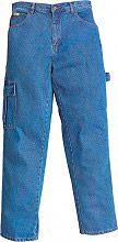 Greenbay 436502 54 Jeans Pantaloni da lavoro Multitasche Cotone Tg 54 436502