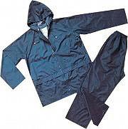 Greenbay Giacca Impermeabile Pantaloni Impermeabili Antipioggia 461013-XL