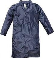Greenbay Giacca Impermeabile Cappotto Antipioggia Cappuccio PVC XXL Blu - 461031