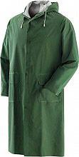 Greenbay 462049-L Giacca Impermeabile Cappotto Antipioggia Cappuccio PVC L Verde 462049