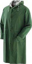 Greenbay Giacca Impermeabile Cappotto Antipioggia Cappuccio PVC L Verde - 462049