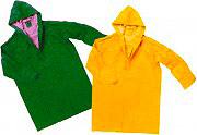 Greenbay Giacca Impermeabile Cappotto Antipioggia Cappuccio PVC L Giallo 462050