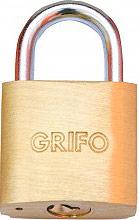 Grifo Lucchetto in Ottone e acciaio temperato Dimensioni 60 mm + 3 chiavi 85206
