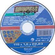 Grinding TW-HDMF Disco Abrasivo da Taglio per ferro Diametro 115 mm 110 pezzi