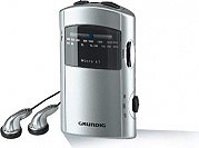Grundig MICRO61 Radio portatile AMFM Jack 3,5 mm Alimentazione batterie  GRR1991