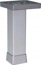 Gs Plast P0702Z Piedino Alluminio Argento cm 10 P0702 Z Pezzi 12