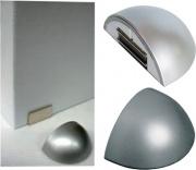Gs Plast AP123000019 Fermaporte Magnetico con BiAdesiva Ap123 Oro Luc. Pezzi 10