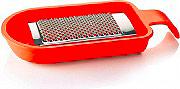 Guzzini 12045631 Grattugia con Lama Smontabile colore Rosso Brillante  Forme Casa