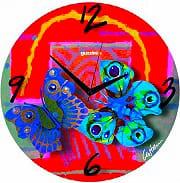 Guzzini 27270652 Orologio da Parete ø 38 cm colore Rosso  Volare