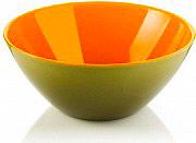 Guzzini 281420142 Ciotola Rotonda 1.15 lt in SAN colore Verde Arancione  Fusion