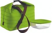 Guzzini 3290384 Borsa Termica Grande + contenitore 1400 cc Colore Verde Mela