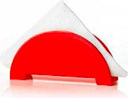 Guzzini 9905031 Portatovaglioli da Tavolo Triangolare colore Rosso
