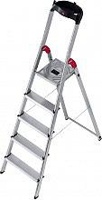 HAILO 8160-801 Scala alluminio 8 gradini Domestica h 345 cm  L60