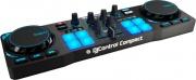 HERCULES 4780843 Consolle DJ USB 2 Canali compatibile Windows Mac Nero  Compact