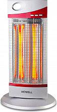 HOWELL Stufa elettrica al carbonio Potenza 1200 Watt Oscillante HO.RSC1203
