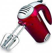 HOWELL Sbattitore Elettrico Mixer 4 fruste 350 W Lusso Rosso MX3510PRO