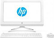 "HP PC All in One 20"" AMD E2 4Gb 1Tb USB HDMI LAN WiFi Bianco 1EE11EA 20-C030NL"