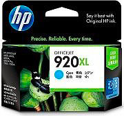 HP Cartuccia Originale Inkjet col. Ciano 920 XL CD972AE