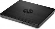 HP F6V97AA Masterizzatore Esterno Portatile Slim USB DVD CD 24x Nero