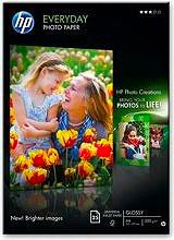 HP Q5451A Risma 25 Fogli carta fotografica A4 200 gm²