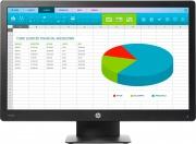HP X7R53AA Monitor PC 20 pollici HD+ 1600x900 px VGA DisplayPorts Schermo PC
