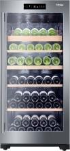 Haier WS92GDBI Cantinetta Vino Frigo Portabottiglie 92 bottiglie Inox