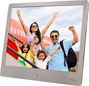 """Hama Cornice digitale 8"""" Lettore schede USB Orologio calendario 00118560"""