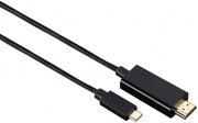 Hama 00135724 Adattatore USB-C HDMI 1,8 m Nero 7135724