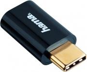 Hama 39135723 Adattatore USB-C plug micro USB 2.0 socket USB Micro B Black 7135723