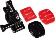 Hama 00004396 Supporto adesivo da casco per GoPro montaggio laterale 7004396